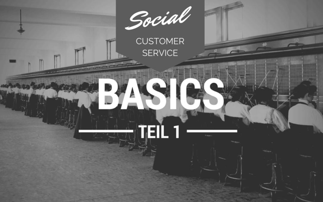 Social Media Customer Service: Warum sich Unternehmen auch im Social Web professionell verhalten müssen