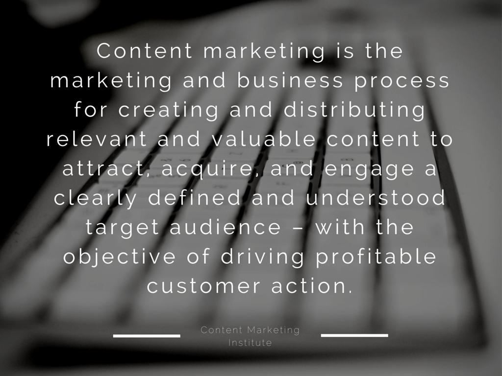 Definiton Content Marketing