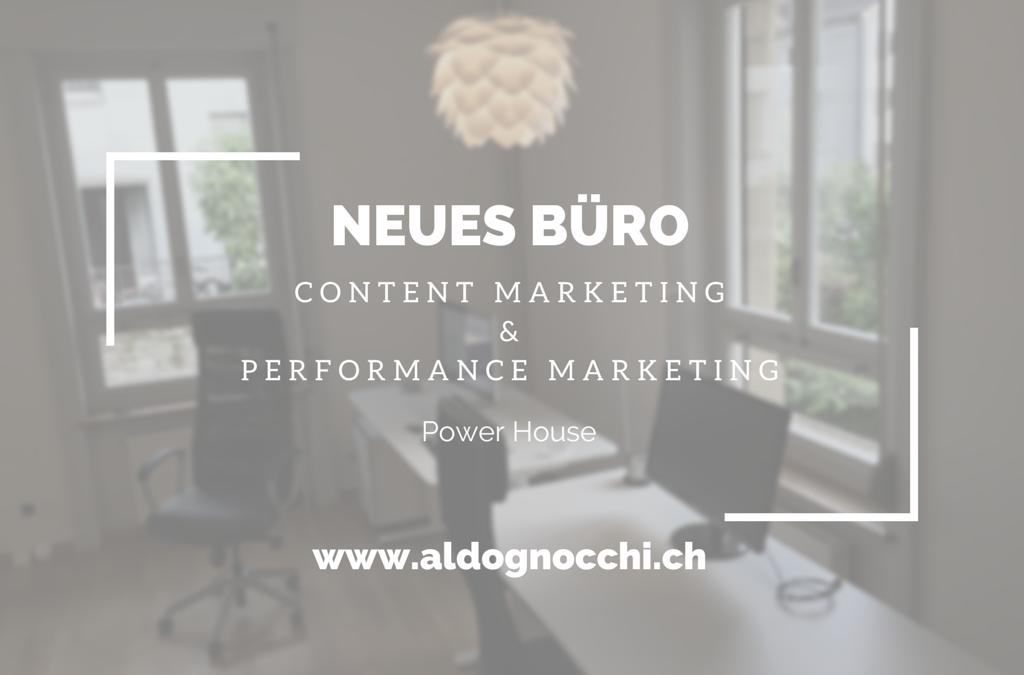 Neues Büro: Gnocchi Digital Marketing, Angelink, und Wortspiel nutzen Synergien