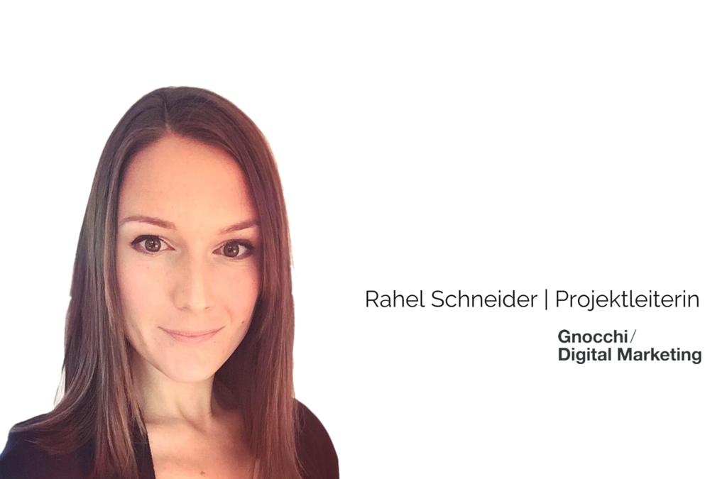Die Gnocchi GmbH wird durch Rahel Schneider aka @Sunnechind verstärkt