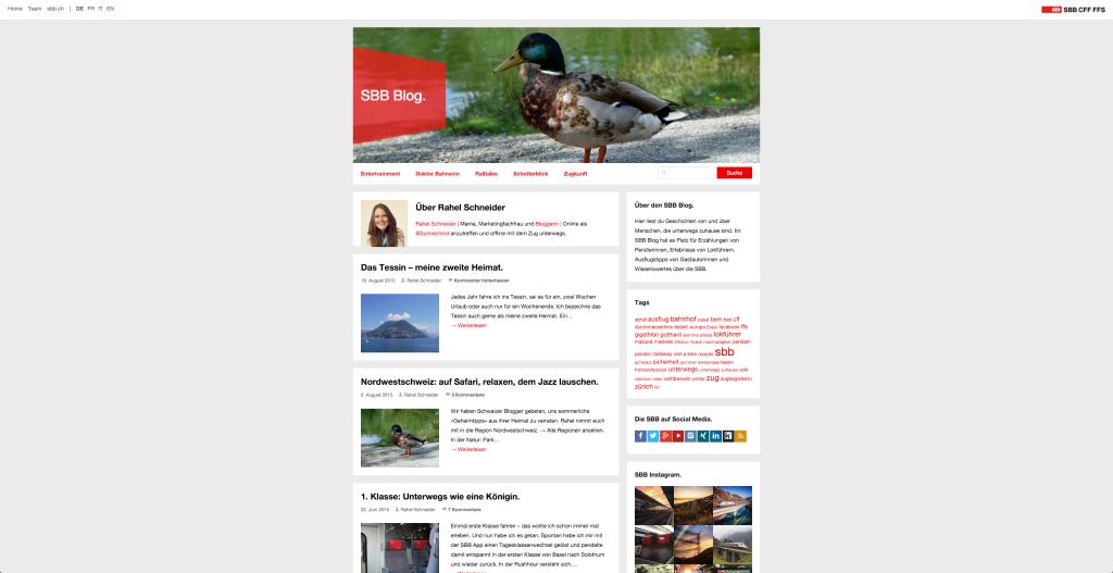 SBB Blog