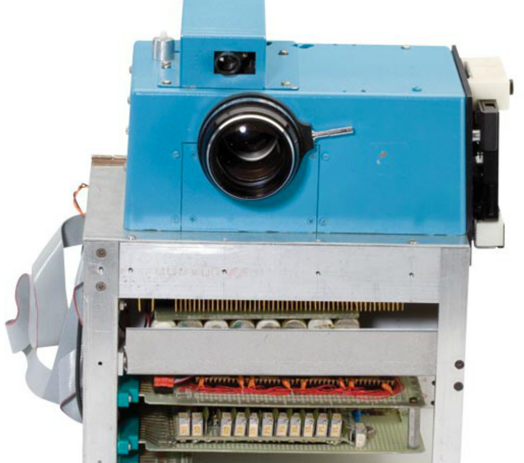 Die erste Digitalkamera von Kodak
