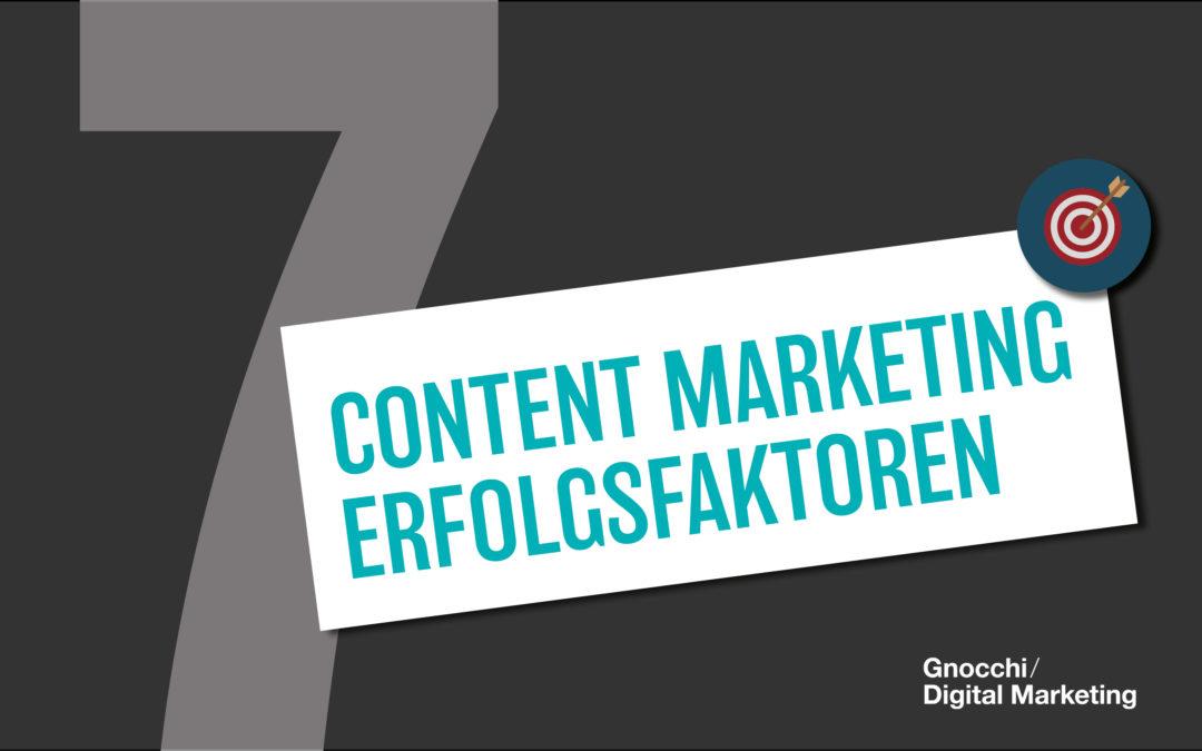 7 Content Marketing Erfolgsfaktoren, und weshalb Marken mehr Mut brauchen!