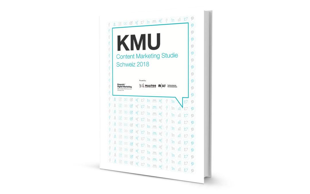 KMU Content Marketing Studie Schweiz 2018