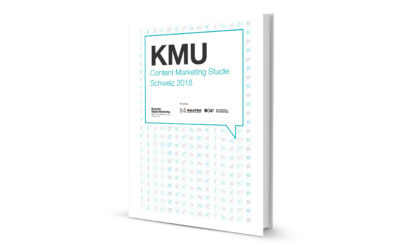 KMU Content Marketing Studie Schweiz 2018